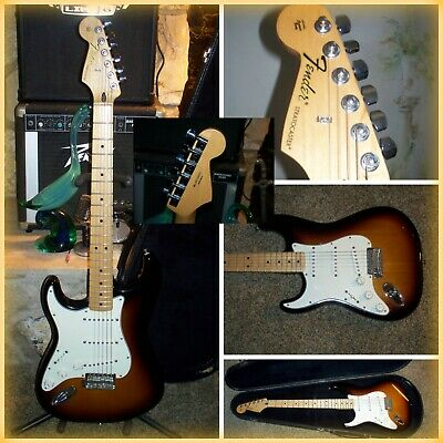 Fender Stratocaster 2013 Left Handed 6 String Electric Guitar MADE IN MEXICO