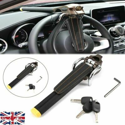 Universal Foldable Auto Car Steering Wheel Security Lock With 3 Keys Anti Theft