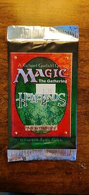 MTG Sealed Homelands Booster Pack Fresh from the Box NEW Magic The Gathering