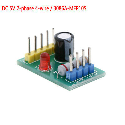 DC4-6V 5V miniature stepper motor driver control board 2 phase 4 wire drive C ER