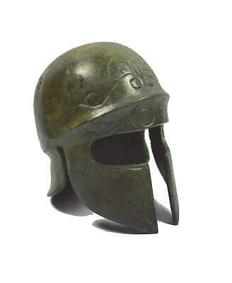 Athenian Bronze mini Helmet - Museum replica - Ancient Greece - Handmade