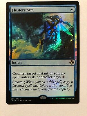 FOIL Flusterstorm, Iconic Masters, MTG Magic The Gathering, NM