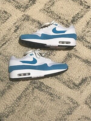 "NIKE WOMENS AIR Max 1 US Size 7.5 ""Atomic Teal"" Light Blue"