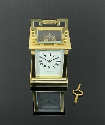 "Choice Antique French ""Anglaise Riche"" Striking Carriage Clock"