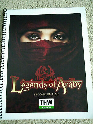 Two Hour Wargames Mini Rules Legends of Araby (2nd Edition) SC MINT