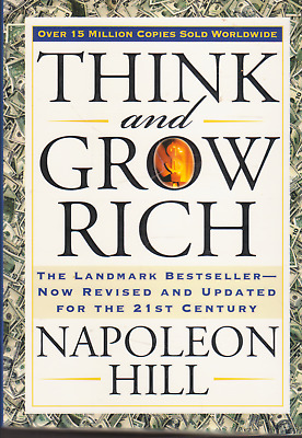 THINK and GROW RICH (Beveled Edge edition) By Napoleon Hill