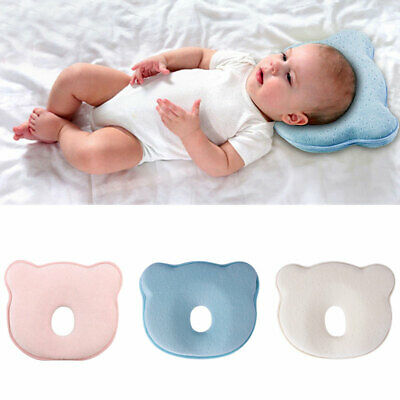 Infant Soft Pillow Cot Newborn Baby Prevent Flat Head Cushion Sleeping Support