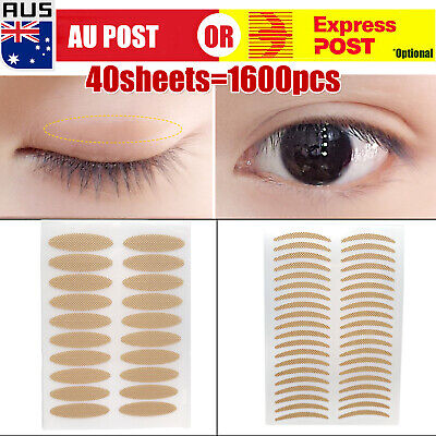 1600 pcs Eyelid Tape Adhesive Tool Eye Lift Strips Lace Stickers Double A