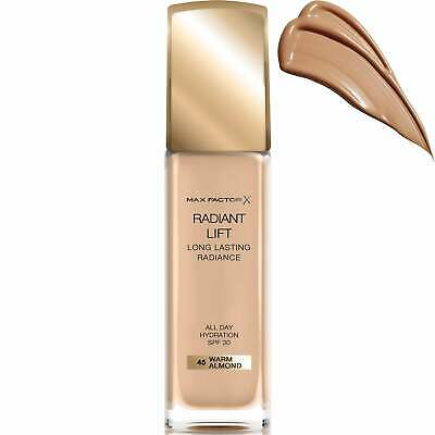 Max Factor Radiant Lift - Long Lasting Radiance SPF30 - Warm Almond 45 30ml