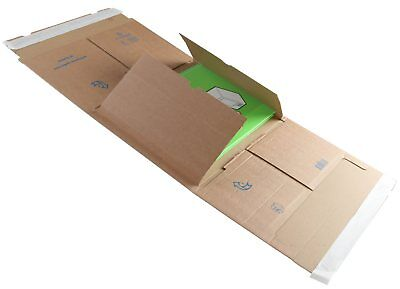 Book Postal Boxes 302 x 215 x 30-80mm Blake Mailing Pack of 25 Peel & Seal S0BW