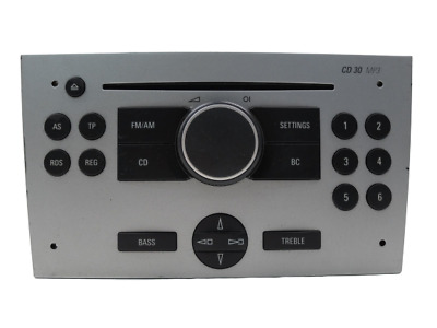 Radio Cd Mp3 Opel Corsa C 13188892 7647104317 UCH-UK6