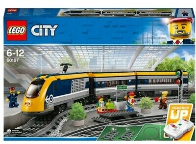 New LEGO City Passenger RC Train Toy Construction Set - Great gift Christmas