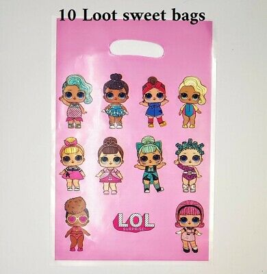 PARTY BAG FILLERS WEDDING GIFT LOL DOLL MERBABY CANDY LIPSTICKS