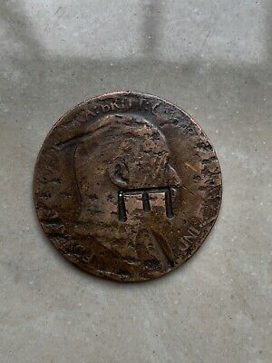 1910 EDWARD VII HALF PENNY RARE Has Engraved E (help) Collectors Coin Hunt