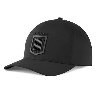 Icon 1000 Tech Curved Bill Hat Black