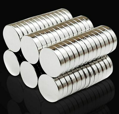 N35 Neodymium Magnets ~ 10mm Dia x 3mm Thick ~ Round DISCS Cylinder Ring STRONG