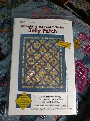 Jelly Patch Straight to the Point Quilt Pattern only
