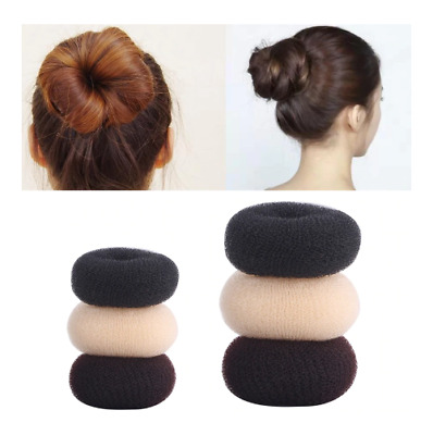 Women Ladies Girls Magic Shaper Donut Hair Ring Bun Fashion Hair Styling Tool