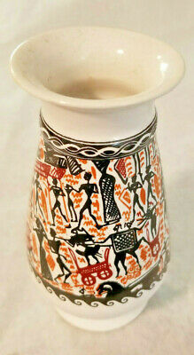 Greek Pottery / Vase / Display Piece: Hand Made & Painted in Greece by Kepameikh