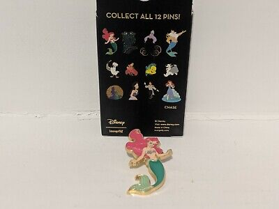 Ariel Disney Little Mermaid 30th Blind Box Mystery Blind Pin 1 of 12 Loungefly