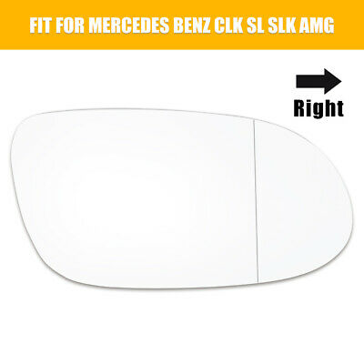 Driver Side Replacement Mirror Glass for Mercedes Benz CLK SL SLK AMG 1998-2006
