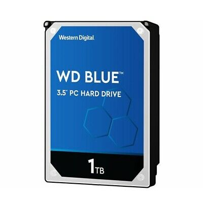 "WD Blue 1TB HDD PC Hard Disk Drive Western Digital Blue 7200RPM 3.5"" SATA"