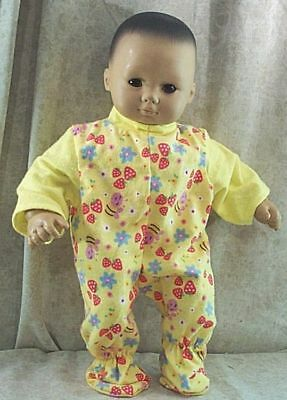 "Doll Clothes Baby Made 2 Fit American Girl 15/"" inch Bitty Sleeper Moon Star Boy"