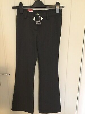 Girls School NEW Slim Fit Trousers NEXT Age 10 Yrs. With Adjustable Waist Band