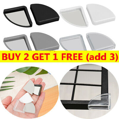4PCS Corner Protector Cushions Glass Furniture Edge Child Safety Soft Guards ~