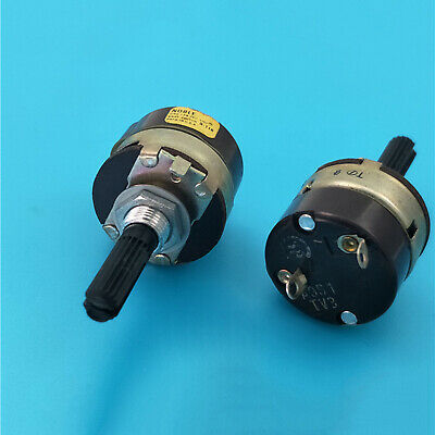 1PC Japan Noble Rotary Power on//off switch A9S1 TV3 250V 8A length 25mm T6179 YS