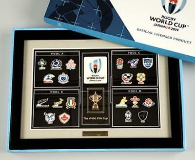 Rugby World Cup Japan National Team Pins Frame National Team Japan Limited