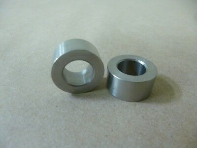 """3/8"""" ID X 5/8"""" OD X 1/2"""" TALL STAINLESS STEEL STANDOFF / SPACER / BUSHING 2 Pcs"""