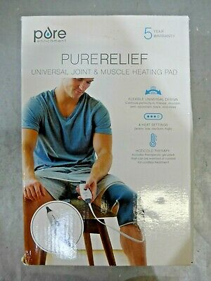 Pure Enrichment PureRelief Universal Joint and Muscle Heating Pad - Grey