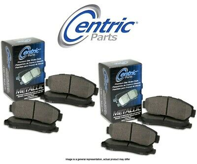 Centric Parts Ceramic Disc Brake Pads CT96966 FRONT + REAR SET