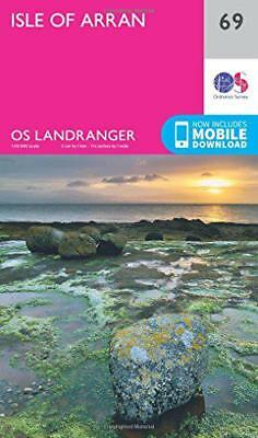 Landranger (69) Isle Of Arran (Os Map) da Ordnance Survey, Nuovo Libro