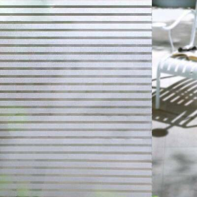 Frosted Window Film Opaque Privacy Etched Glass Sticky Back Plastic Vinyl Glass