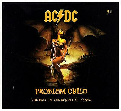 "AC DC : ""8 legendary Live 1974 - 1979 - Bon Scott Years""  RARE EDITION CD !"