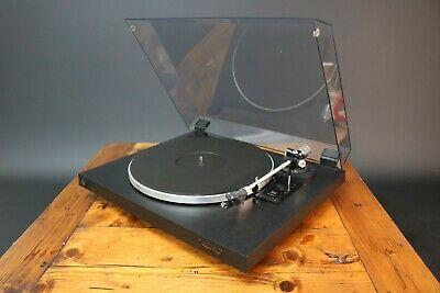 Dual CS 503-1 Turntable Audiophile Concept Hi Fi Record Player Deck Working