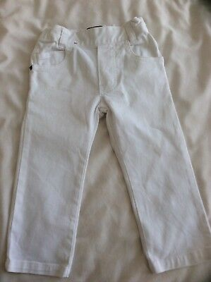 TIMBERLAND baby jeans, size 2, 86cm regular slim fit, white