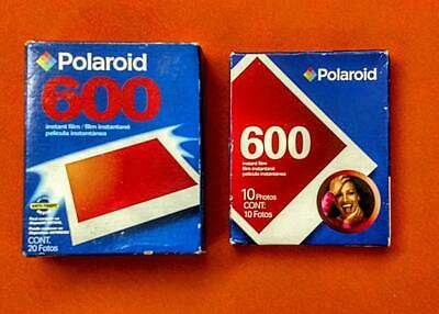 Polaroid 600 expired film new in box - one single pack, one double pack