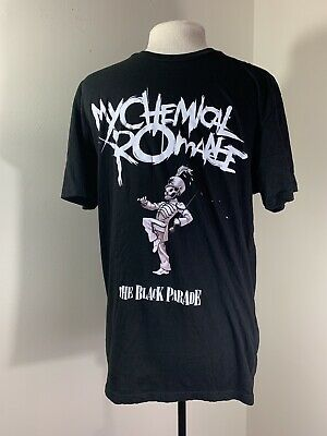 My Chemical Romance The Black Parade Band T Shirt Size Large
