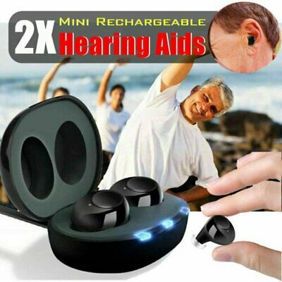 Mini In Ear Hörgeräteverstärker Sound Voice Bluetooth-Headset Amplifier