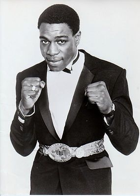BOXE -   Frank BRUNO  Photo Presse Originale