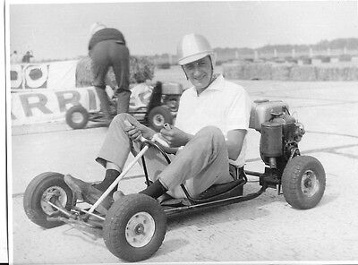 KARTING   photo presse originale 60's