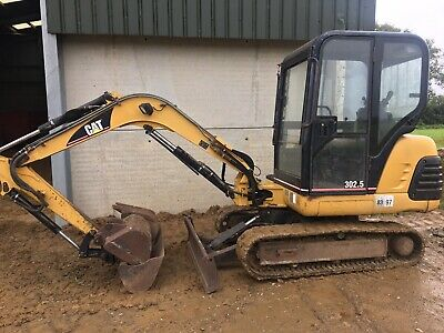 Caterpillar 302.5 Mini Excavator