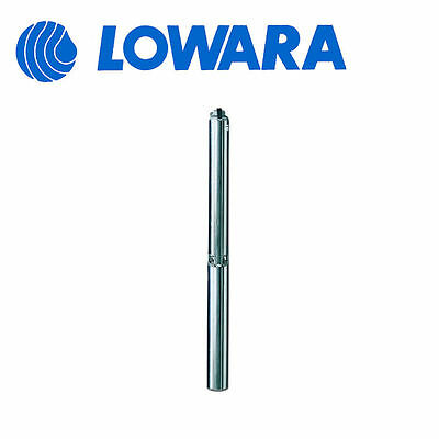 "4GS11M HP 1,5 MONOPHASE 4gs11m SUBMERSIBLE PUMP for wells of 4"" LOWARA mod"