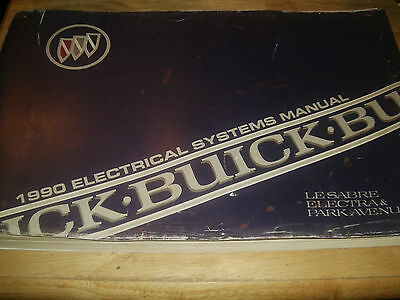 1990 Buick Park Avenue / Electra / Le Sabre / Electrical / Wiring Shop Manual