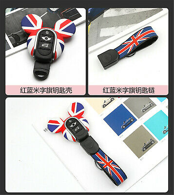 Silicone Keyring Keychain FOB Remote Key Cover Case For Mini Cooper F54~F60 K01