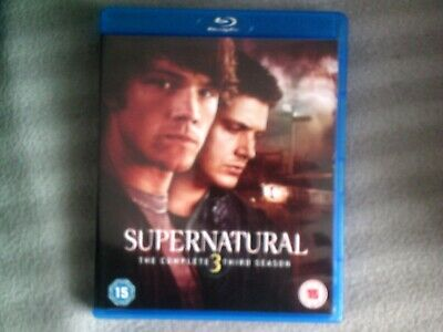 Supernatural The Complete Third Season*Series 3 (3)*Blu Ray*Tv*4 Disc*