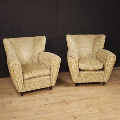 Pair of Armchairs Design Furniture Chairs Living Room Italian Bansal Velvet 900